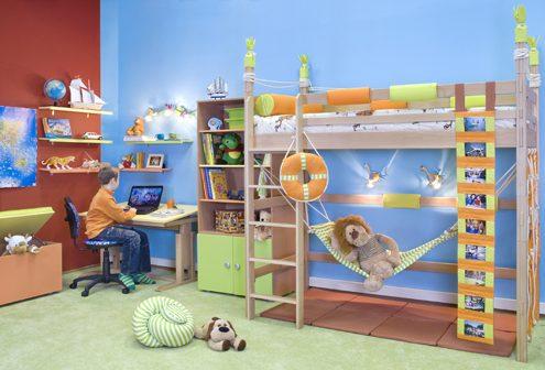 Как я обустроил комнату для детей