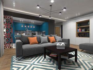 Декорирование комнаты отдыха