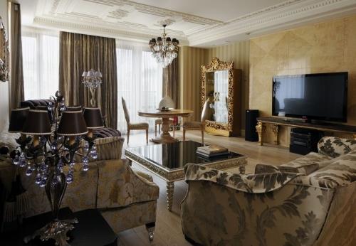 Декорирование гостиной
