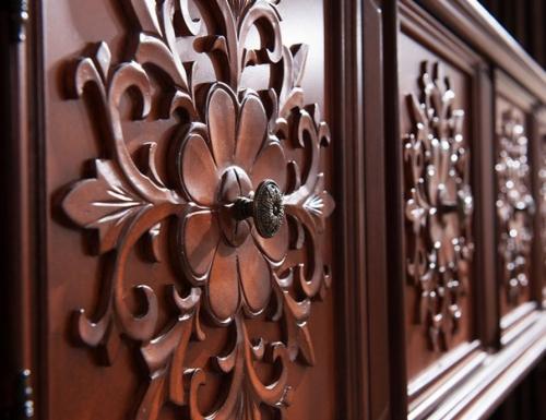 Оформление дверок и боковых стенок