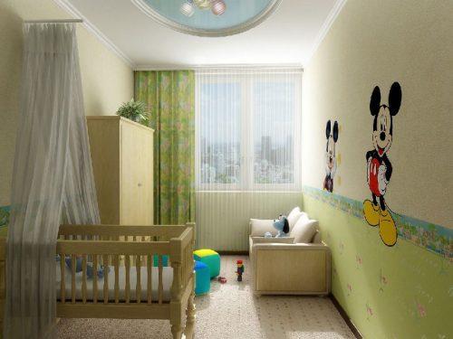 Дизайн детской комнаты, фото