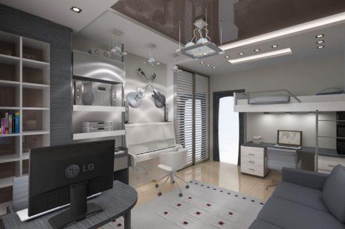 Дизайн комнаты для мальчика, фото