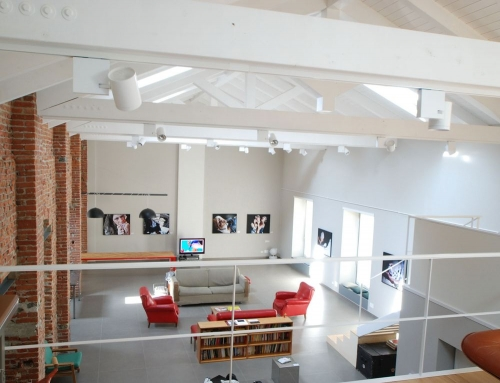 Дизайн квартиры - студии, фото