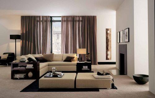 дизайн зала в квартире, фото