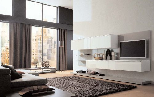 Дизайн зала в квартире, фото 2