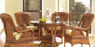 Мебель плетёная из ротанга